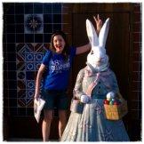 Bunny ears on a bunny! he he he...
