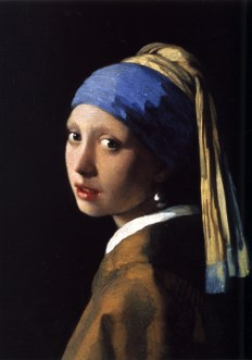 ORIGINAL: 'Girl with a Pearl Earring' - Johannes Vermeer, circa 1665