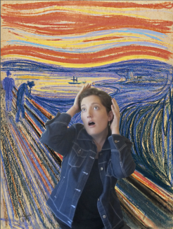 RECREATION: 'The Scream' - Edvard Munch, 1895