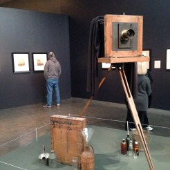 Wet-plate field camera with Dallmeyer lens, tripod, and related equipment, France ca. 1870s