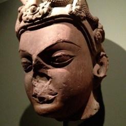Head of Vishnu, Gupta period, mid 5th c. A.D.