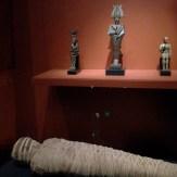 Iris/Osiris/Horus and a mummy - he was SO short!