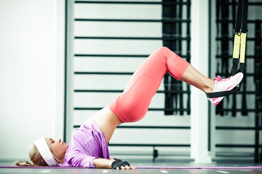 People - Woman Functional Traning TRX Gym Medium