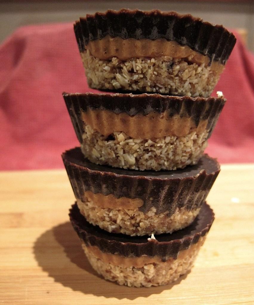 Chocolate Caramel Tarts Smaller