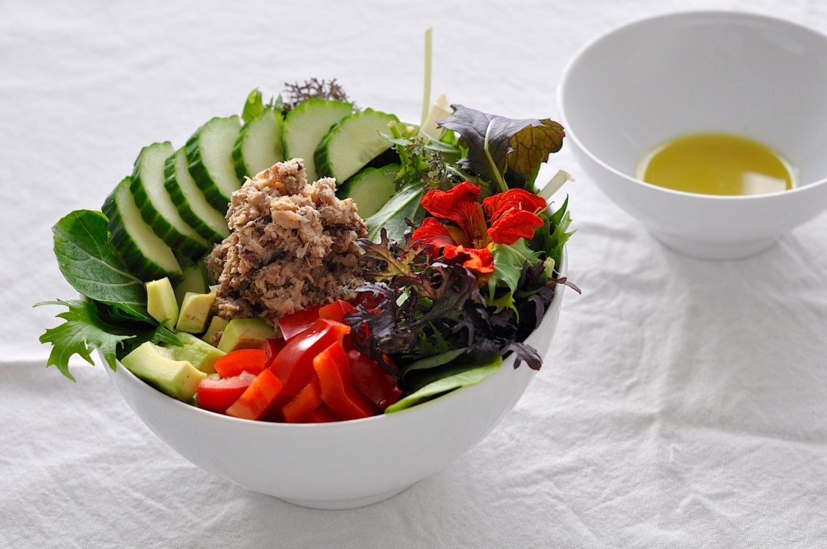 Lovely Sardine & Avocado Salad | Choosing Healthy Fats
