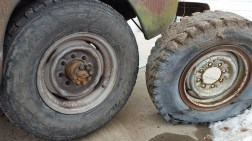 New v. old wheels