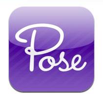 pose app logo
