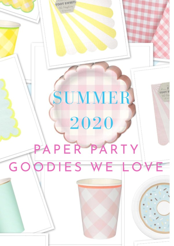 Paper Party Goodies We Love!