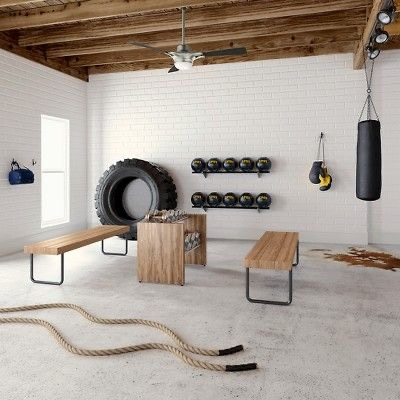 Everything You Need For The Perfect At Home Gym