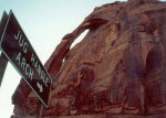 Jughandle Arch, albeit at a rather odd angle. The arch is ...