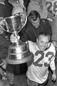 Ron Lancaster 1966 Grey Cup