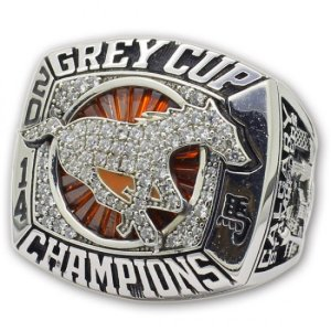 2014 grey cup ring