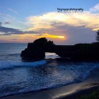 Tanha lot sunset, Bali