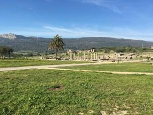 More Roman ruins at Bolonia.