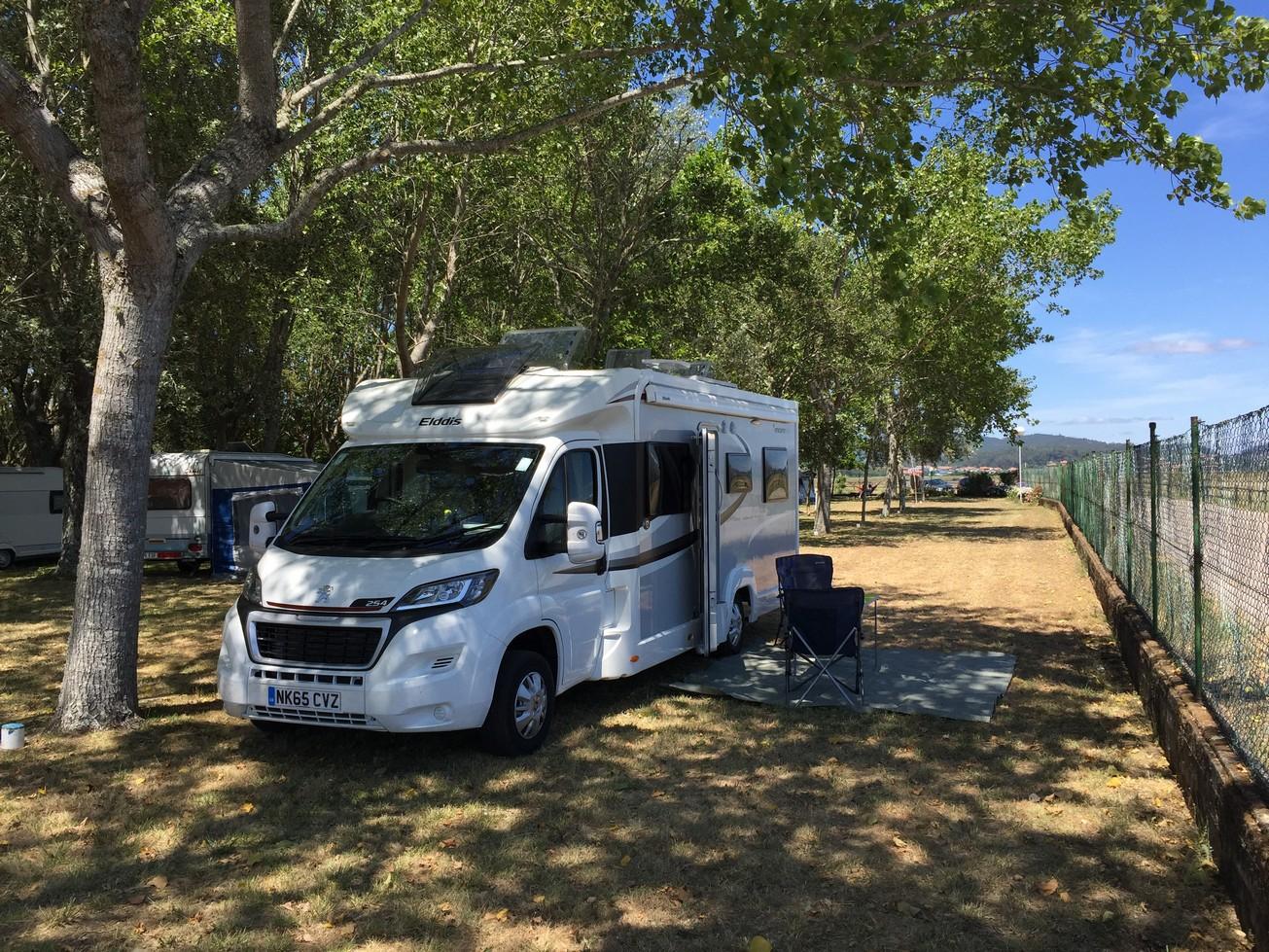 072 Camping Santa Tecla, A Guarda, Spain, Campsite