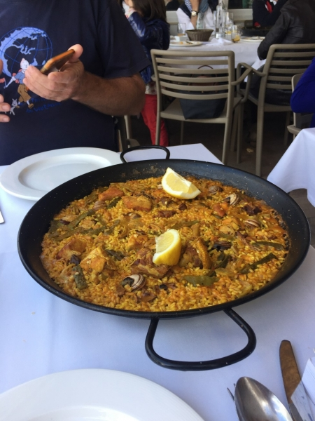 Valencia the home of Paella