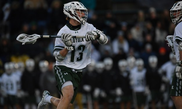 No. 12 Men's lacrosse dominates Towson for third straight win