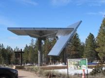 NPS visitor center solar