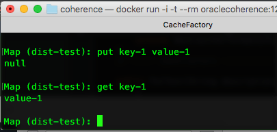 Oracle Coherence on Docker - The Grid Man