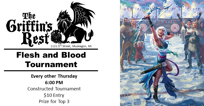 Flesh and Blood: Constructed Tournament