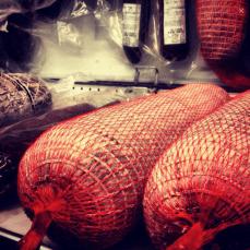 Gorno's sausages (Photo attributed to Jordan Harris)