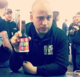 So you can put a face to the name! Danny with Hello My Name Is Vladimir from BrewDog at Craft Beer Rising!