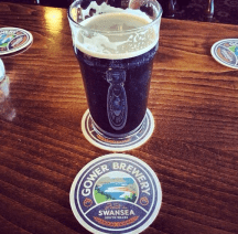 Thanks to @m4rkh who sent this pint of Gower in that he drank at The Grey Hound Inn!
