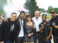 BBQ Bob makin' Jerk Steak for Shaggy and gang on Fox 17
