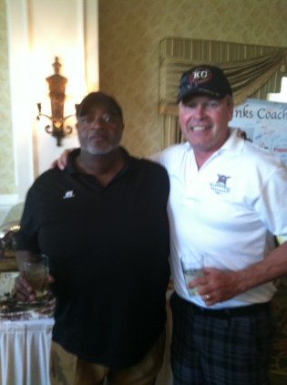 NFL strength coach Billy Long with Bob.