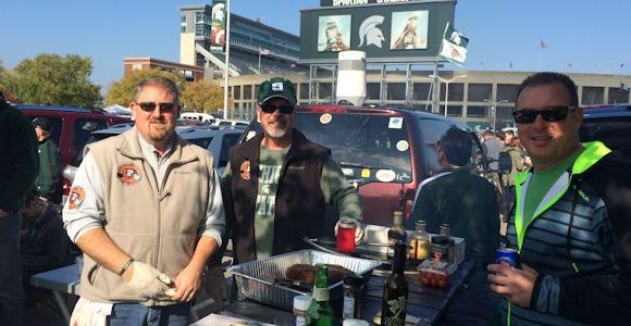 Tailgating – Sparty Style