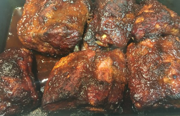 Memphis Style Ribs with a little twist