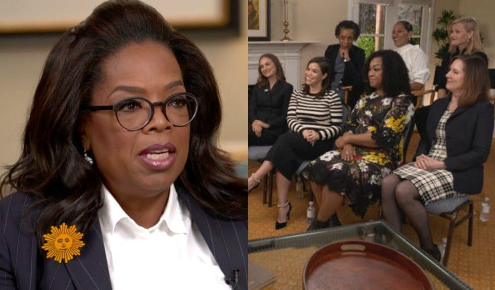 Oprah assembles women in Hollywood for powerful #TimesUp roundtable