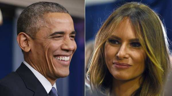 Melania Trump only follows five people on Twitter, and one ...