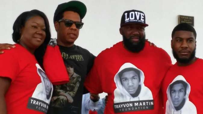 Image result for Jay-Z Gives A Great Speech At Trayvon Martin Peace Walk