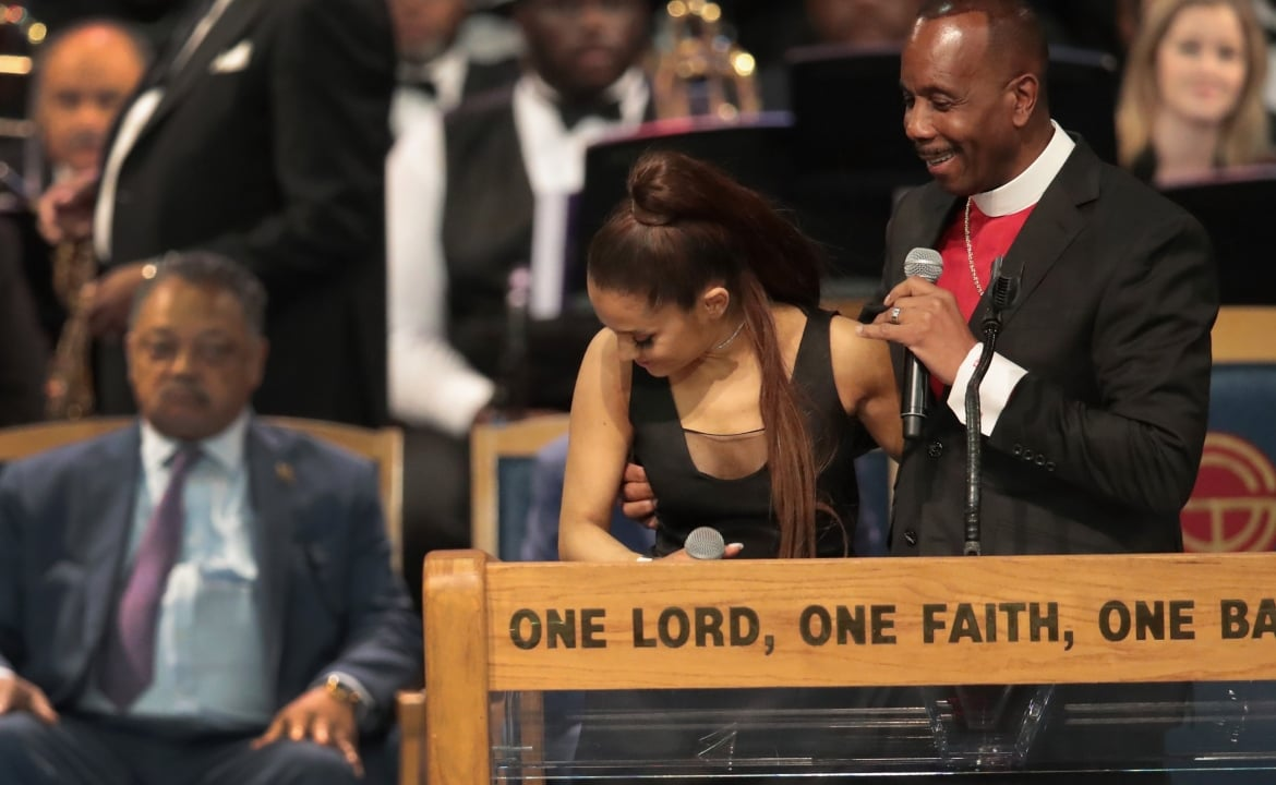 Ariana Grande Receives Apology From Bishop At Aretha