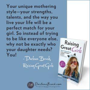 Unique Mothering Style Darlene Brock