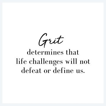 A Woman of Grit