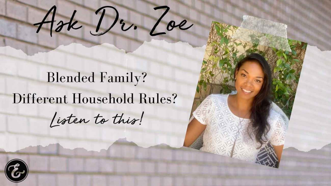 Dr Zoe blended family