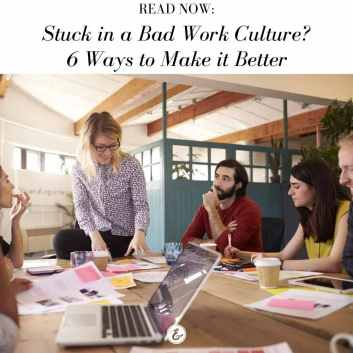 Stuck in a bad work culture board