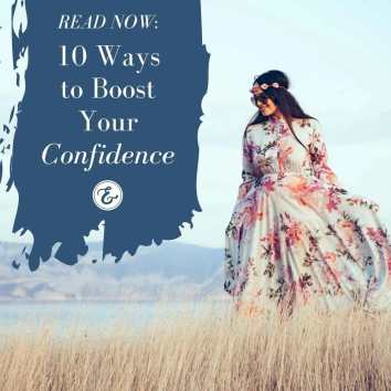 10 ways to boost your confidence board