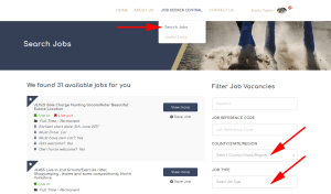 The Grooms List - How to Search Jobs