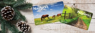 Christmas gift ideas for horse lovers - Naylors Equestrian Gift Card