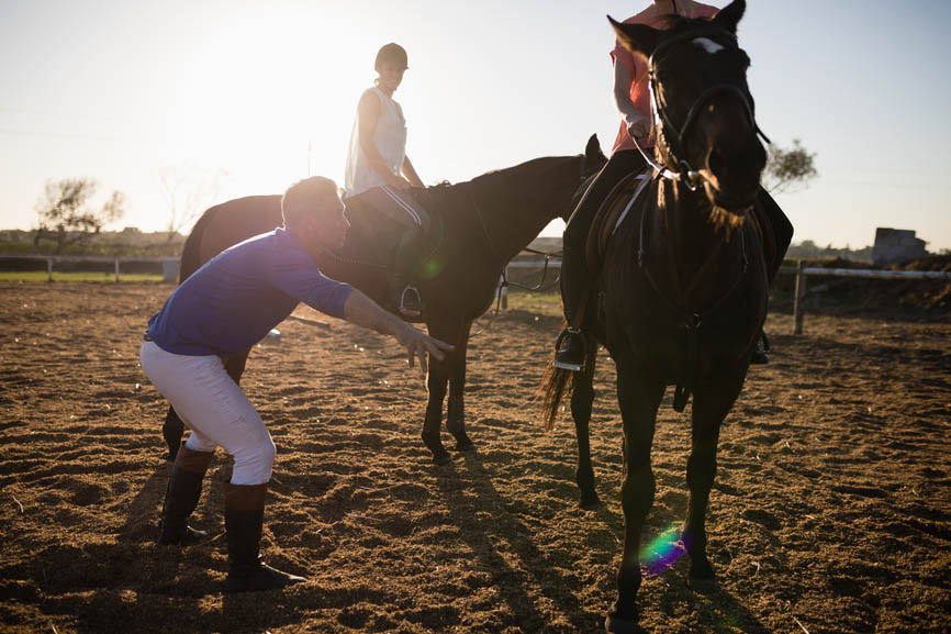 Have you got what it takes to become a horse riding instructor - The Grooms List