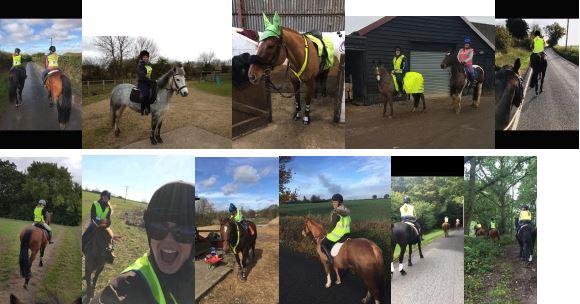 Hacking Safely - Kate Harley - Hi-Vis for horse riders