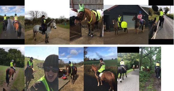 Hacking Safely - Kate Harley - Hi-Vis for horse riders
