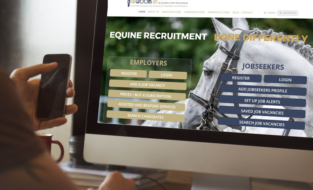 Why The Grooms List is THE GO-TO place for Equine Apprenticeships