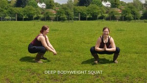 Back Pain and Yard Work - Bodyweight Squat