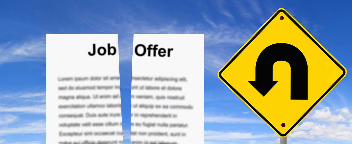 Withdrawing a Job Offer
