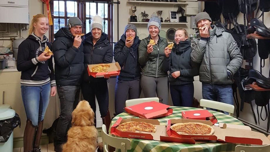 Give Your Staff a Pizza Day with Carl Hester and Charlotte Du Jardin - Horse and Hound Magazine