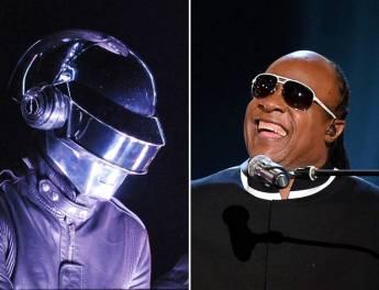 Daft Punk e Stevie Wonder juntos no Grammy deste ano